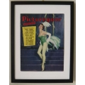 Vintage magazines - framed