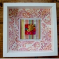 Patchwork/textile - framed